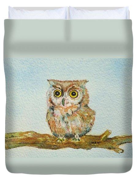 Ann's Owl Duvet Cover