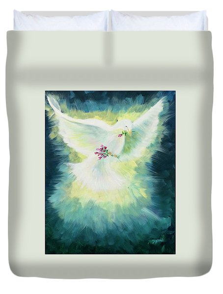 Anointed Duvet Cover