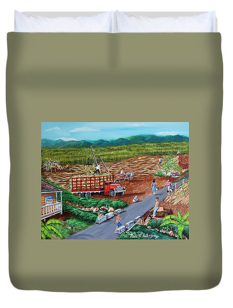 Anoranzas Duvet Cover by Luis F Rodriguez