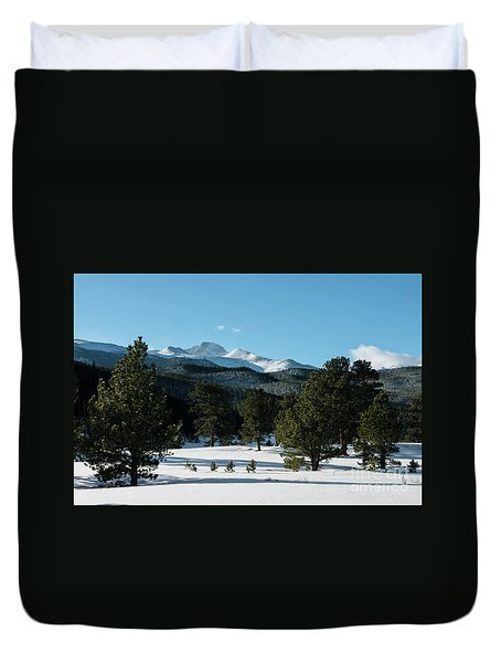 Another Beautiful Day In Rocky Mountain National Park - 0612 Duvet Cover