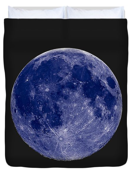 Another Blue Moon Duvet Cover