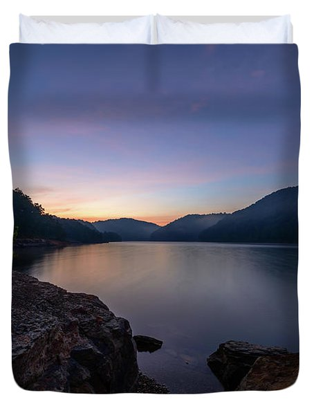 Another Day At Windy Bay Duvet Cover