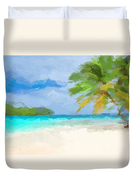 Another Day In Paradise  Duvet Cover