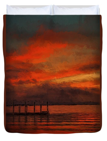 Another Day Is Done 2 Duvet Cover