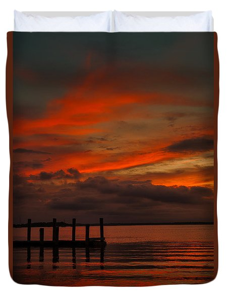 Another Day Is Done Duvet Cover