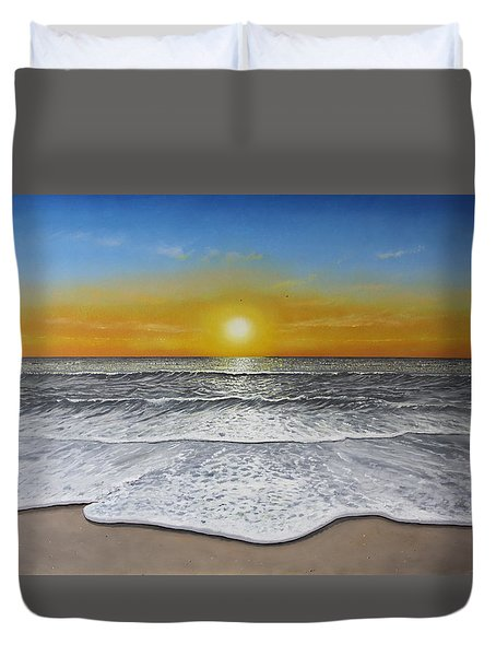 Another Day Duvet Cover by Paul Newcastle
