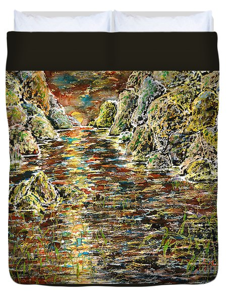 Another Days Eve Duvet Cover