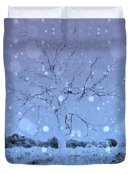 Another Dimension  Duvet Cover by Keith Elliott