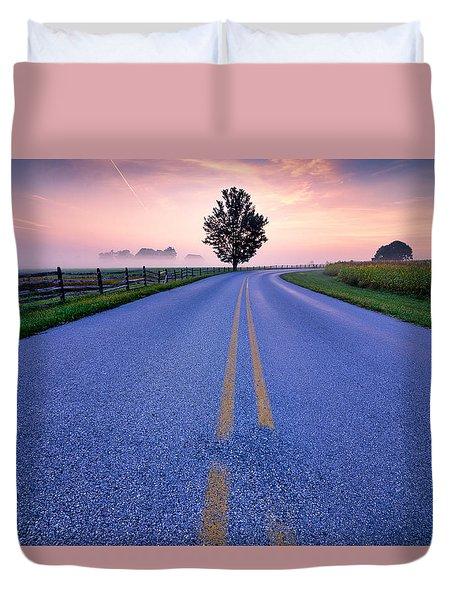 Another Gettysburg Morning Duvet Cover