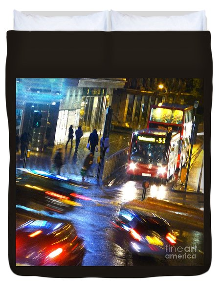 Duvet Cover featuring the photograph Another Manic Monday by LemonArt Photography