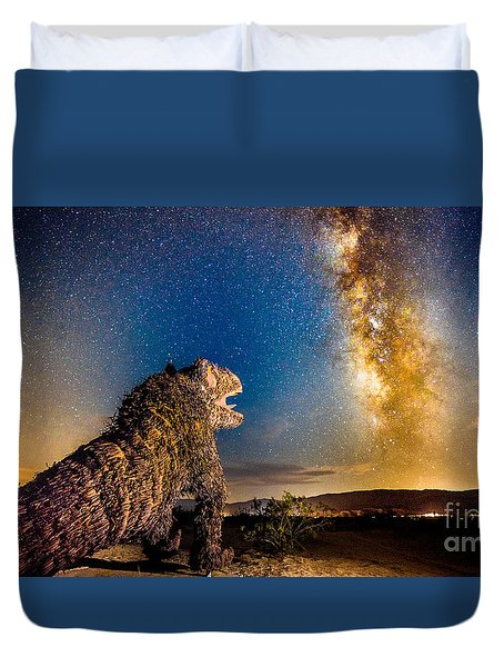 Another Monster At Borrego Springs Duvet Cover
