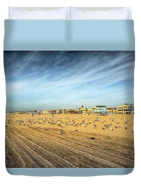 Another Seagull Afternoon Duvet Cover