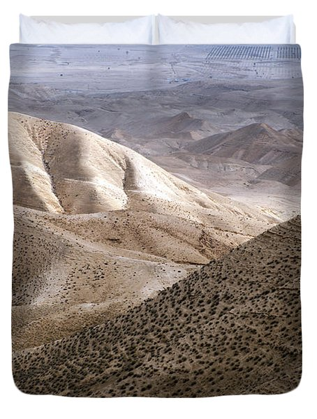 Another View From Masada Duvet Cover