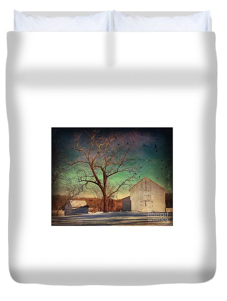 Another Winter Day  Duvet Cover