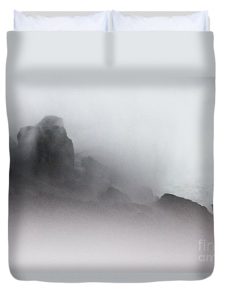 Duvet Cover featuring the photograph Another World by Dana DiPasquale