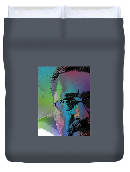 Anothercolor Duvet Cover by Jeff Iverson