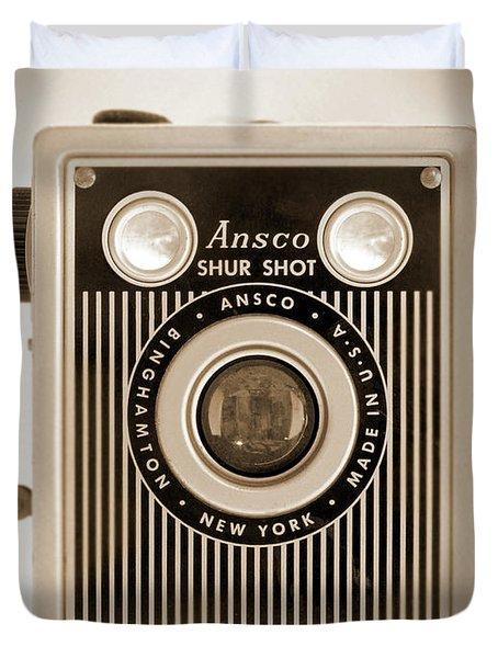 Ansco Shur Shot Duvet Cover by Mike McGlothlen