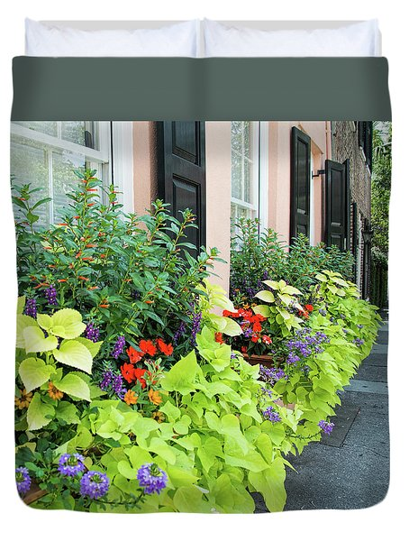 Anson St. Duvet Cover by Ed Waldrop