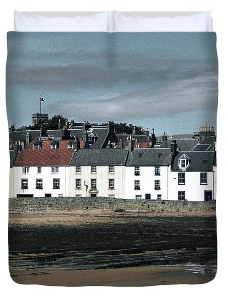 Anstruther Beach Duvet Cover