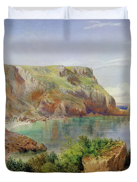 Ansty's Cove Duvet Cover by John William Salter