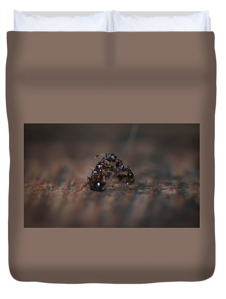 Ant Fight Duvet Cover