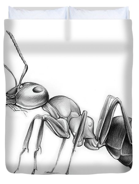 Ant Duvet Cover by Greg Joens