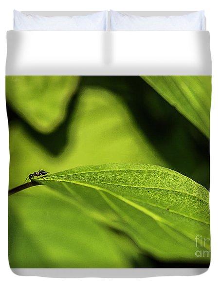 Ant Life Duvet Cover