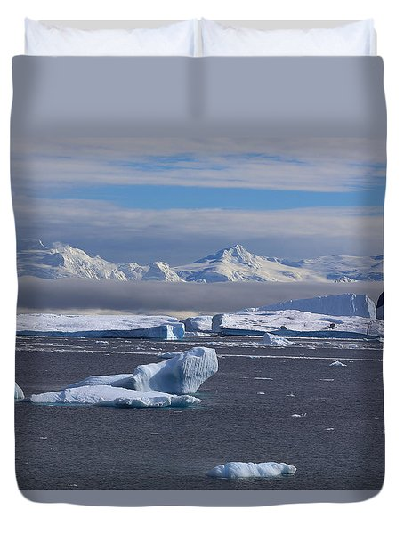 Antarctic Peninsula Duvet Cover