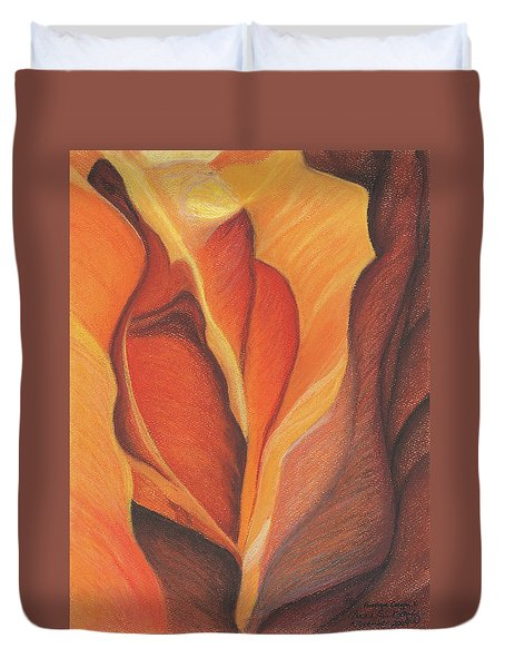 Antelope Canyon 1 Duvet Cover
