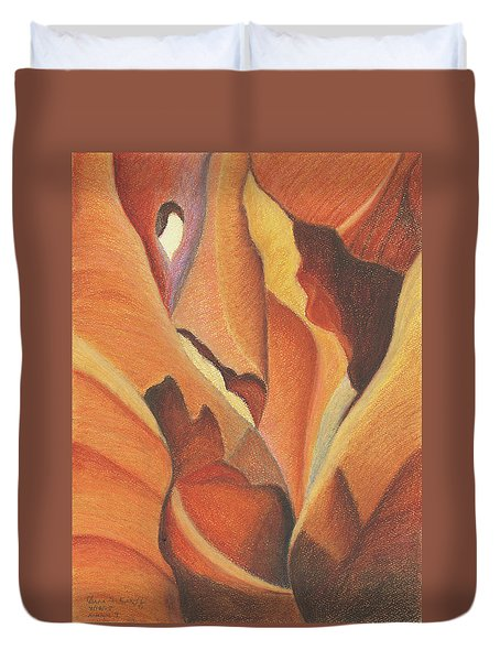 Antelope Canyon 4 - For Gloria Duvet Cover