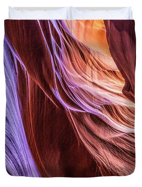 Antelope Canyon Air Glow Duvet Cover
