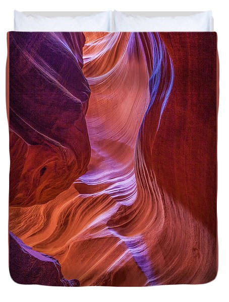 Antelope Canyon Beauty Duvet Cover