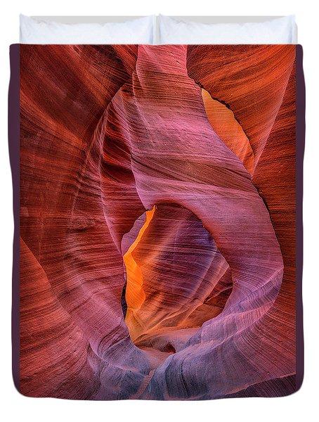 Antelope Canyon Chimney Duvet Cover