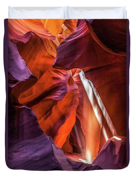 Antelope Canyon Lightshaft 3 Duvet Cover