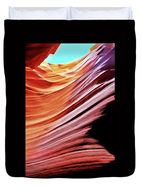 Antelope Canyon Duvet Cover