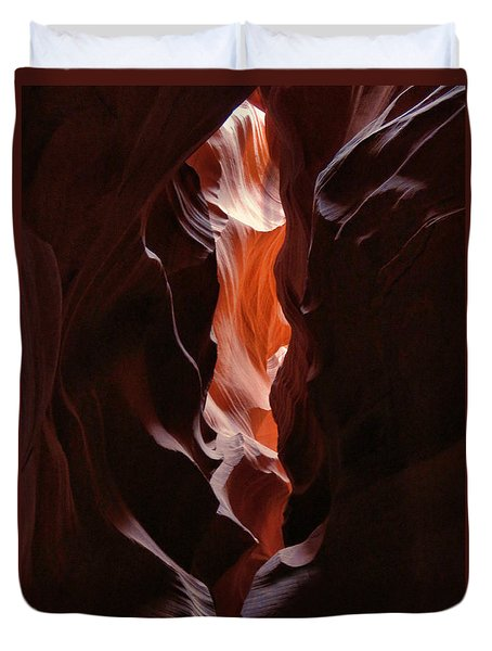 Antelope Valley Slot Canyon 10 Duvet Cover