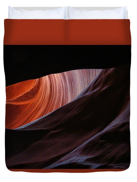 Antelope Valley Slot Canyon 11 Duvet Cover