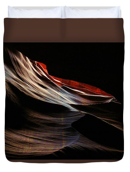Antelope Valley Slot Canyon 4 Duvet Cover