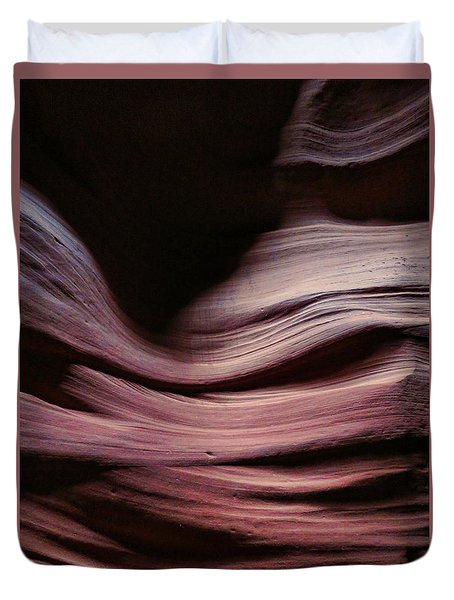 Antelope Valley Slot Canyon 6 Duvet Cover