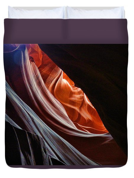 Antelope Valley Slot Canyon 9 Duvet Cover