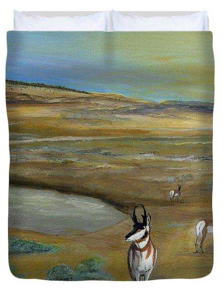 Antelopes Duvet Cover
