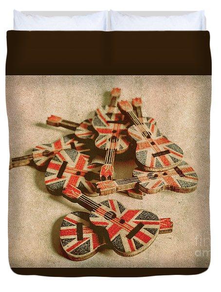 Anthem Of Old England Duvet Cover