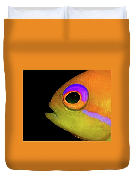 Anthias Duvet Cover