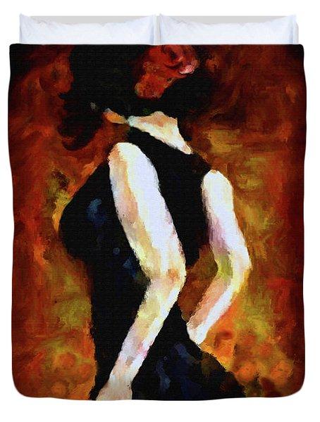 Anticipation Duvet Cover by Kat Solinsky