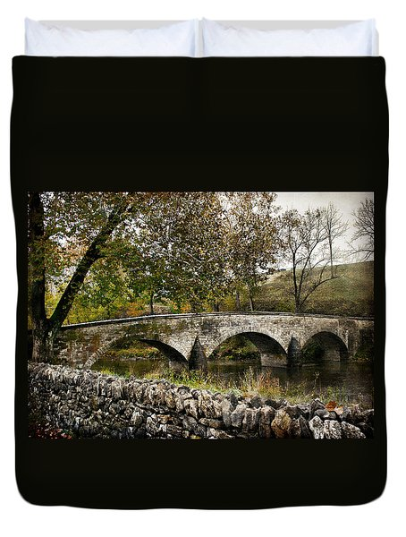 Burnside's Bridge Over Antietam Creek Duvet Cover