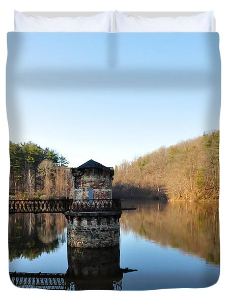 Antietam Creek Duvet Cover by Bill Cannon