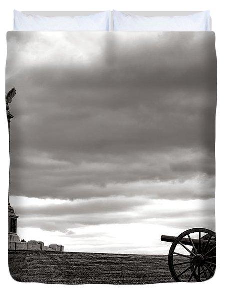 Antietam Silence  Duvet Cover