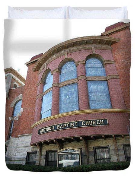 Antioch Baptist Church Duvet Cover