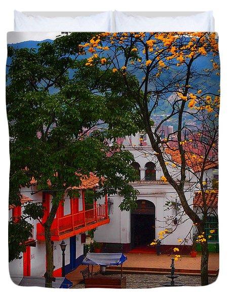 Antioquia Duvet Cover by Skip Hunt