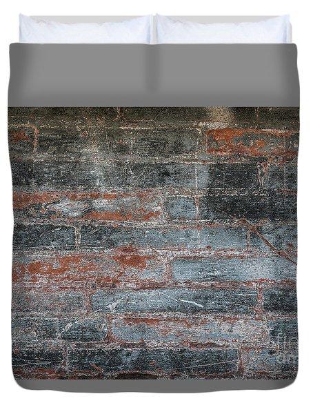 Antique Brick Wall Duvet Cover